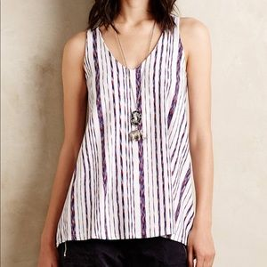 Puella North South Swing Tank Anthropologie XS
